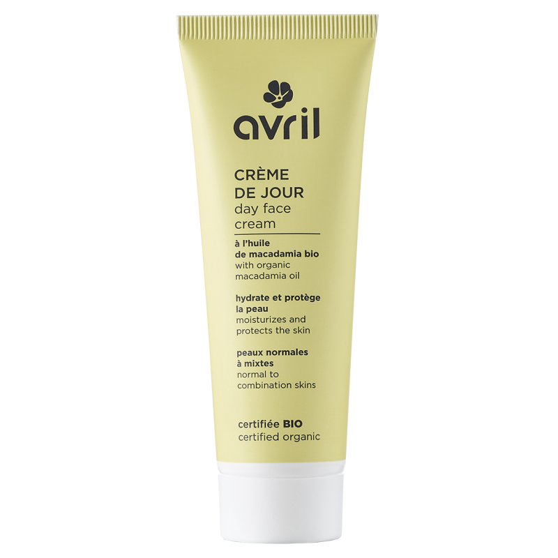 Crème de jour peaux normales mixtes - certifié bio Avril - 1