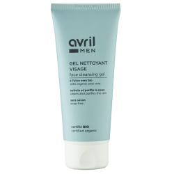 Gel nettoyant visage homme Avril - Certifié bio Avril - 1