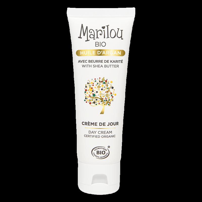 Crème de Jour hydratante à l'Huile d'Argan bio Marilou Bio Marilou Bio - 2