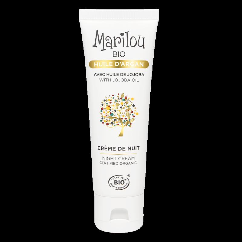 Crème de Nuit à l'Huile d'Argan bio Marilou Bio Marilou Bio - 1