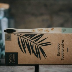 Brosses à dents vertes Bambou Medium - Wild&Stone WILD&STONE - 3