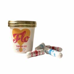 Tampons en coton bio sans applicateur bio Flo Flo - 2